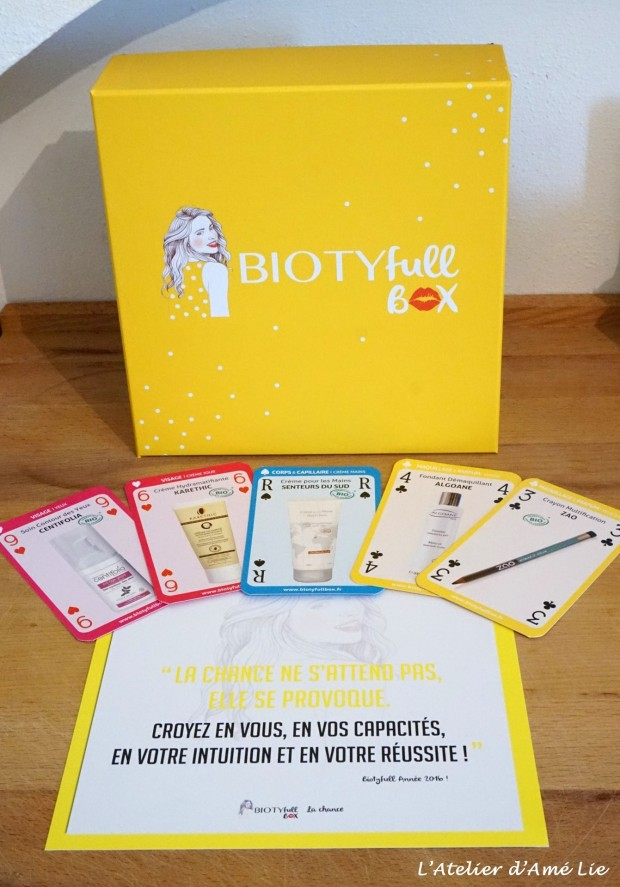 carte biotyfull box janvier